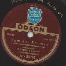 Richard Tauber singt Carl Loewe Balladen : Tom der Reimer + Die Uhr
