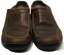 Clarks Womens Brown Slip On Shoes Size 6 M