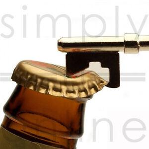 Key Shaped Bottle Opener Ring Keyfob Keyring Chain Keychain Metal Beer Ring Tool