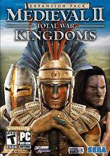 Medieval II Total War: Kingdoms Expansion Pack - PC - New sealed