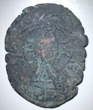 Byzantine Empire Michael VII 1071-1078 AE Follis (Overstruck), 7.71g