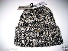 Vans shoes Womens Meddle cuff Beanie Black grey gold thick OSFM Free Ship NWT