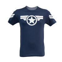CAPTAIN AMERICA MARVEL IRON MAN THOR COMIC DC SUPER HERO MOVIE T SHIRT (S- 2XL )