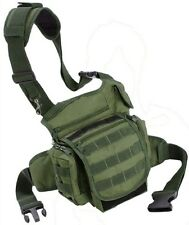 Every Day Carry Tactical Bag EDC Day Pack [Green] Backpack w/ Molle Loops