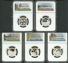 2019-S SILVER QUARTERS SET WHITMAN EXPO RELEASES NGC PF70 ULTRA CAMEO
