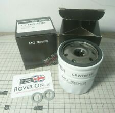 K Series Oil Filter & Washer X2 - Rover 25 45 75 MG ZR ZS ZT F TF (LPW100181)