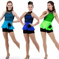 Looking Good Dance Costume Camisole Unitard Tap Clearance Color & Size Choice