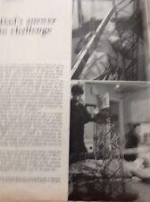 Ephemera Article 1960s Meccano J Pearson Gee Builds A Crane Gloucester