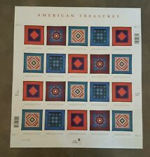 American Treasures : Amish Quilt, Full Pane Stamps