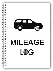 Car Van LGV HGV Business Private Mileage Record 1000 Journeys A5 Log Book New