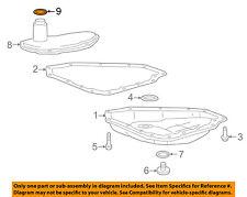 Chevrolet GM OEM 16-18 Spark Transaxle Parts-Filter Seal 25194694