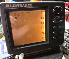 Lowrance X-71 Fishfinder Head Only