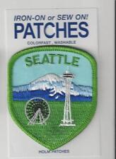Seattle Washington Souvenir Patch