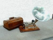 Phonograph von Pathé, um 1910, komplett, voll funktionsfähig, sehr gut erhalten