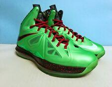 Nike Lebron X (10) ++ CUTTIN JADE ++ sz 9 US 42.5 EU 541100 303 Jordan kobe kd