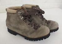 Vintage Vasque Padded Blond Leather Hiking Boots US Men's Size 6 Fast Shipping
