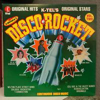 "1978 K-TEL Compilation DISCO ROCKET - 12"" Vinyl Record LP - EX"
