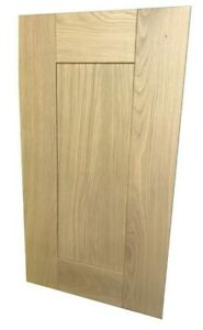 Clearance SALE Solid Oak  Shaker Paneled Kitchen Unit Cupboard Replacement Doors