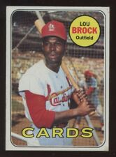 1969 Topps #85 Lou Brock - Cardinals - VG to VG/EX