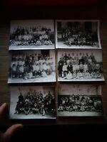 Anciennes Photographies de Groupe Scolaire Ecole Ecolier Années 30
