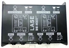 LASE DB-02 - Professional Dual Channel Passive Stereo Direct Box
