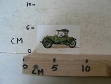 CARDBOARD  CHEVROLET 1915 VINTAGE OLDTIMER CAR