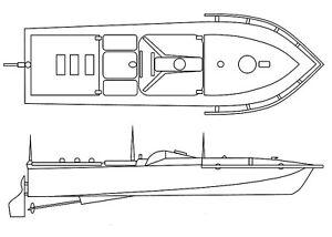 Deutsches Sprengboot Linse - Bausatz 1:72