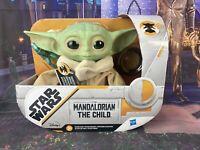 """Star Wars Mandalorian The Child Plush 7.5"""" Talking Baby Yoda Hasbro SHIPS TODAY!"""