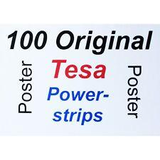 100 Stück Tesa Poster Powerstrips - beidseitig klebend spurlos ablösbar von Tesa