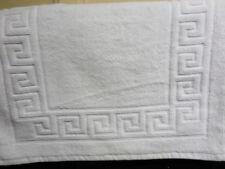 Tappeti da bagno bianco 100% Cotone