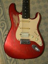 SQUIER Fender Affinity STRAT Stratocaster 1990s worn player EGitarre guitar