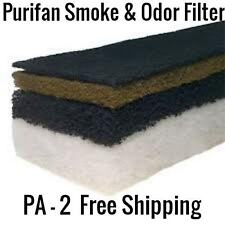 Purifan PA Smoke And Odor Filter Double Charcoal And Potassium Permanganate.