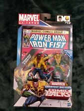 "Marvel Universe Greatest Battles, 3.75"" Power Man & Iron Fist 2-Pack, inc. comic"