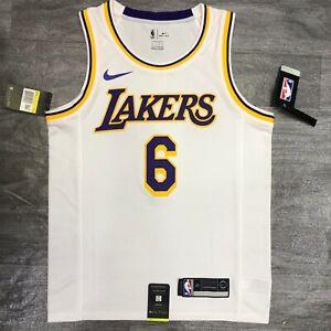 LeBron James 6 NEW Los Angeles Lakers NBA Basketball Jersey Size XL