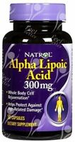 Natrol R-Lipoic Acid & Alpha Lipoic Acid 50/50 Ratio - 300mg x50 - SUPERSELLER!!
