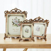 Vintage Wedding Gifts Picture Photo Frame Jewelry Box Set, 3.5x5, 4x6, 5x7, 6x8