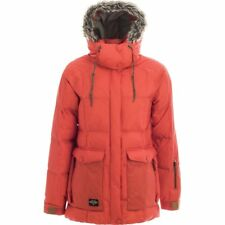 NWT WOMENS HOLDEN CARTER JACKET M $300 Crimson Water Resistant Insulated