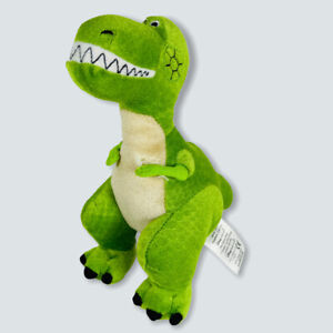The Disney Store REX DINOSAUR FROM TOY STORY Stuffed Animal CHARACTER PLUSH Cute