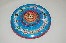1998 Schylling Limited Edition Flying Saucer Z-1 Friction Powered Tin Space Toy