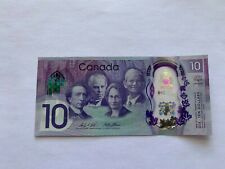2017 Canada 150th Commemorative 10 Dollar Polymer Banknote