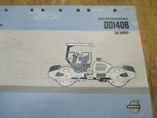 Volvo Dd140b Asphalt Compactor Parts Catalog