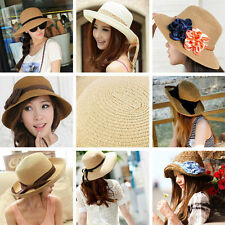 20PS Summer Assorted Hats Beach Brim Straw Women lady Accessories Wholesale cup