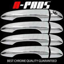 For Jeep 14-16 Cherokee 4Drs Chrome Handle Cover W//O Psgkh,W//Smart Keyhole