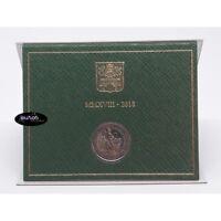 2 euros commemorative VATICAN 2018 - Année Européenne du Patrimoine Culturel BU