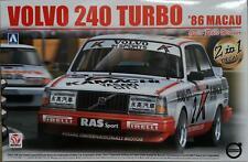 Aoshima/Beemax 24012 Volvo 240 Turbo 'Macau Guia Race Winner 1:24