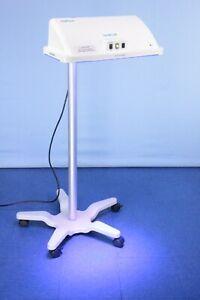 Natus neoBlue LED Phototherapy Light Lamp Stand & Warranty Bililight Biliblanket