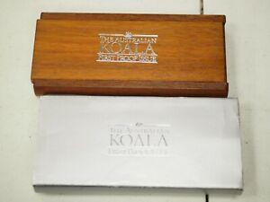 1988 AUSTRALIA $50 1/2 OZ PLATINUM KOALA PROOF GEM PROOF ORIG BOX