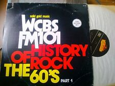 2 LP  WCBS FM101 HISTORY OF ROCK THE 60'S PART 1 SHIRELLES FREDDY CANNON DION
