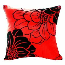 BT Home Sofa Bed Car Square Decorative Throw Pillow Case Cushion Cover (Red)