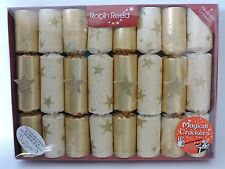 Robin Reed Set 8 Traditional English Christmas MAGIC Party Crackers Tricks NEW